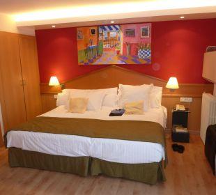Zimmer (mit Balkon) zur Poolseite Hotel Platjador