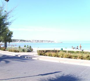 Playa vor dem Hotel