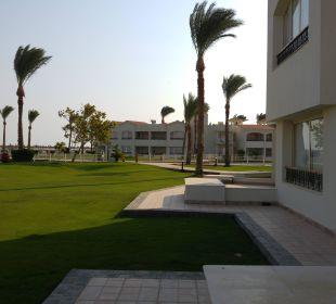 Vor der Terrasse Dana Beach Resort