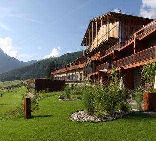 Hotelansicht / hinten Hotel Mohr Life Resort