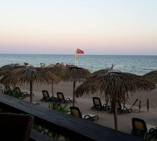 Ausblick Strandbar Sensimar Belek Resort & Spa