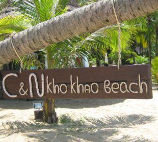 Hotelstrand C&N Kho Khao Beach Resort