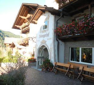 Eingang Hotel Steineggerhof