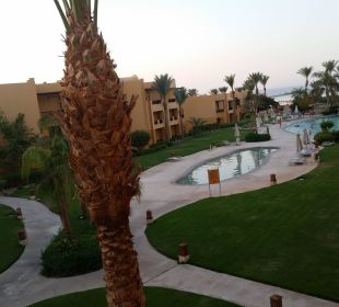 Blick vom Balkon Stella Di Mare Beach Resort & Spa Makadi Bay