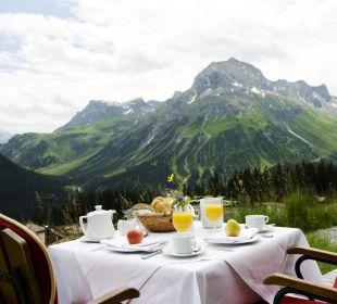 Frühstück am Goldenen Berg Hotel Goldener Berg
