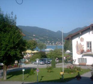 Blick vom Zimmer Hotel Bellevue