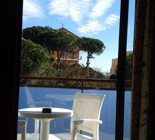 Blick vom Balkon aus H·TOP Calella Palace