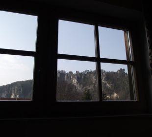 Blick zur Bastei Ettrich's Hotel