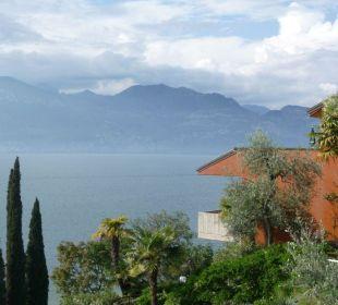 Ausblick vom Pool Hotel Residence Castelli