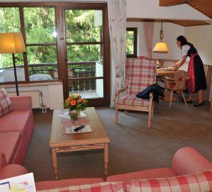 Apartment Wohnzimmer Dorint Sporthotel Garmisch-Partenkirchen