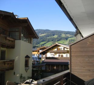 Vom Balkon hinten Hotel Alexander