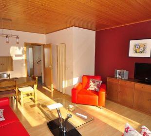 Wohnzimmer Ferienhof Meislahn