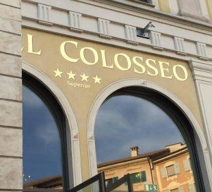 Eingangsbereich von der Piazza Hotel Colosseo Europa-Park