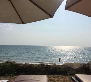 Ausblick von den Liegen Hotel Mukdara Beach Villa & Spa Resort