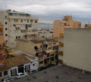 Aussicht vom Balkon Hotel Calma