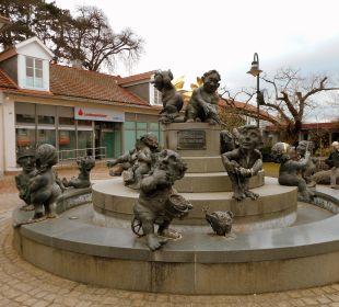Der Jungbrunnen - direkt vor dem Hotel Hotel Victoria