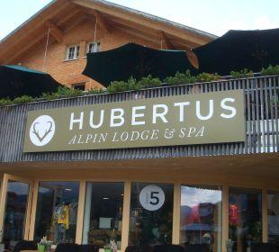 Aussenbereich Hubertus Alpin Lodge & Spa