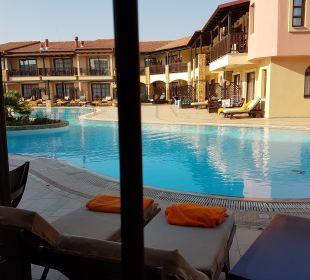 Doppelzimmer superior seitlich. Meerblick Anthemus Sea Beach Hotel & Spa