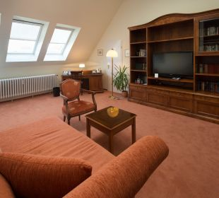 Wohnbereich Junior Suite  Hotel Residenz Berlin