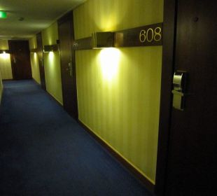Corridor to the rooms First Hotel Reisen