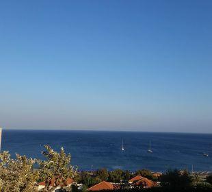 Aussicht zum Strand  Hotel Mitsis Rhodos Village & Bungalow