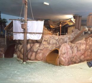 Piratenland mit Rutschen, Piratenschiff Leading Family Hotel & Resort Alpenrose