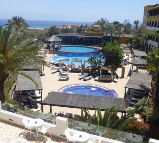 Blick Poolanlage Hotel Barceló Jandia Club Premium