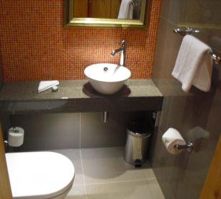Das WC - separat vom Bad!