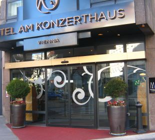 Eingang Hotel Am Konzerthaus - MGallery collection