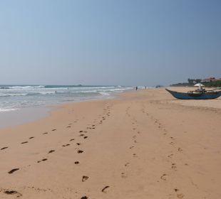 Strand von Amal – weitläufig und angenehm leer Amal Villa