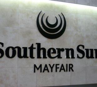 Früher Holiday Inn, jetzt Southern Sun Hotel Southern Sun Mayfair