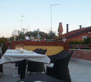 Terrasse et bar Hotel A La Commedia