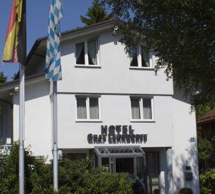 Außenansicht Hotel Graf Lehndorff