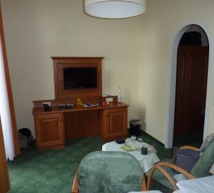 Ansicht vom Bett aus Hotel Victoria
