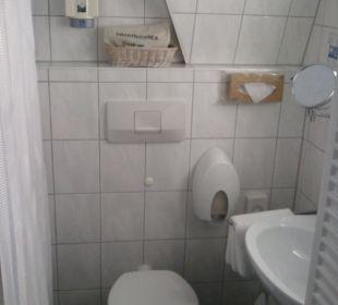 Badezimmer Hotel Garni Körschtal