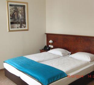 Doppelbett Hotel Terrace