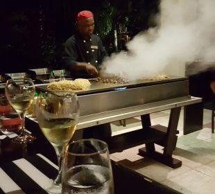 Show Cooking  Dreams La Romana Resort & Spa