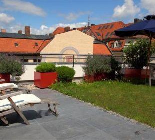Maissonette Suite Dachgarten Hotel München Palace