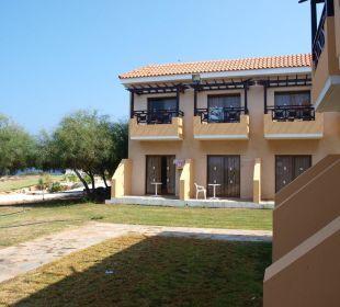 Blick von der Terrasse Hotel Mimosa Beach