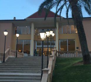 Eingang Hotel Don Antonio