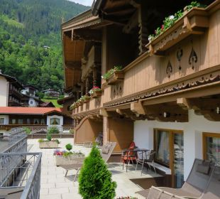 Terrasse Olympia Relax Hotel Leonhard Stock