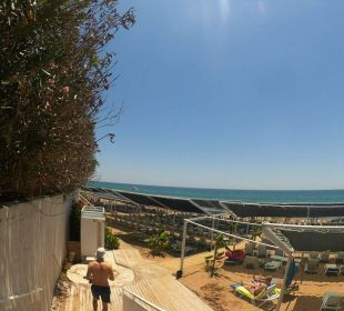 Treppe zum Strand  Hotel Can Garden Resort