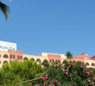 Desde la playa Playacalida Spa Hotel