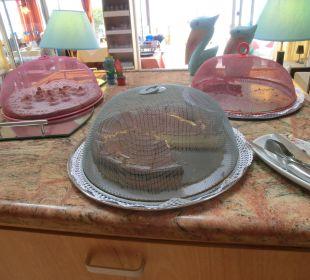 Frühstückskuchen selbst gebacken! Suitehotel Monte Marina Playa