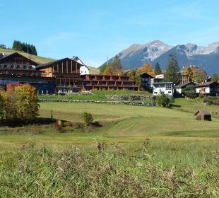 Blick aus dem Tal Hotel Mohr Life Resort