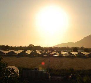 Blick von der Terrasse Hotel Orkinos