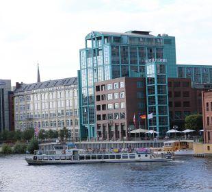 Außenansicht Ameron Hotel Abion Spreebogen Waterside Berlin