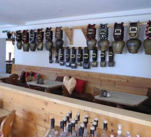 Ein Essbereich Hubertus Alpin Lodge & Spa