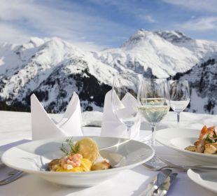 Kulinarische Highlights auf über 1700 Meter Hotel Goldener Berg
