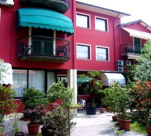 Eingang Hotel Monti
